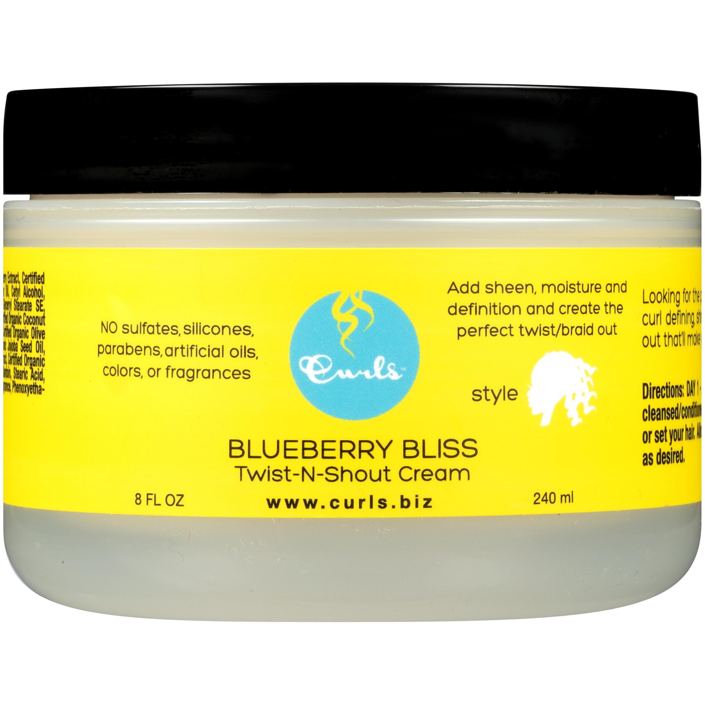 Curls™ Blueberry Bliss Twist-n-Shout Cream 8 fl. oz. Jar