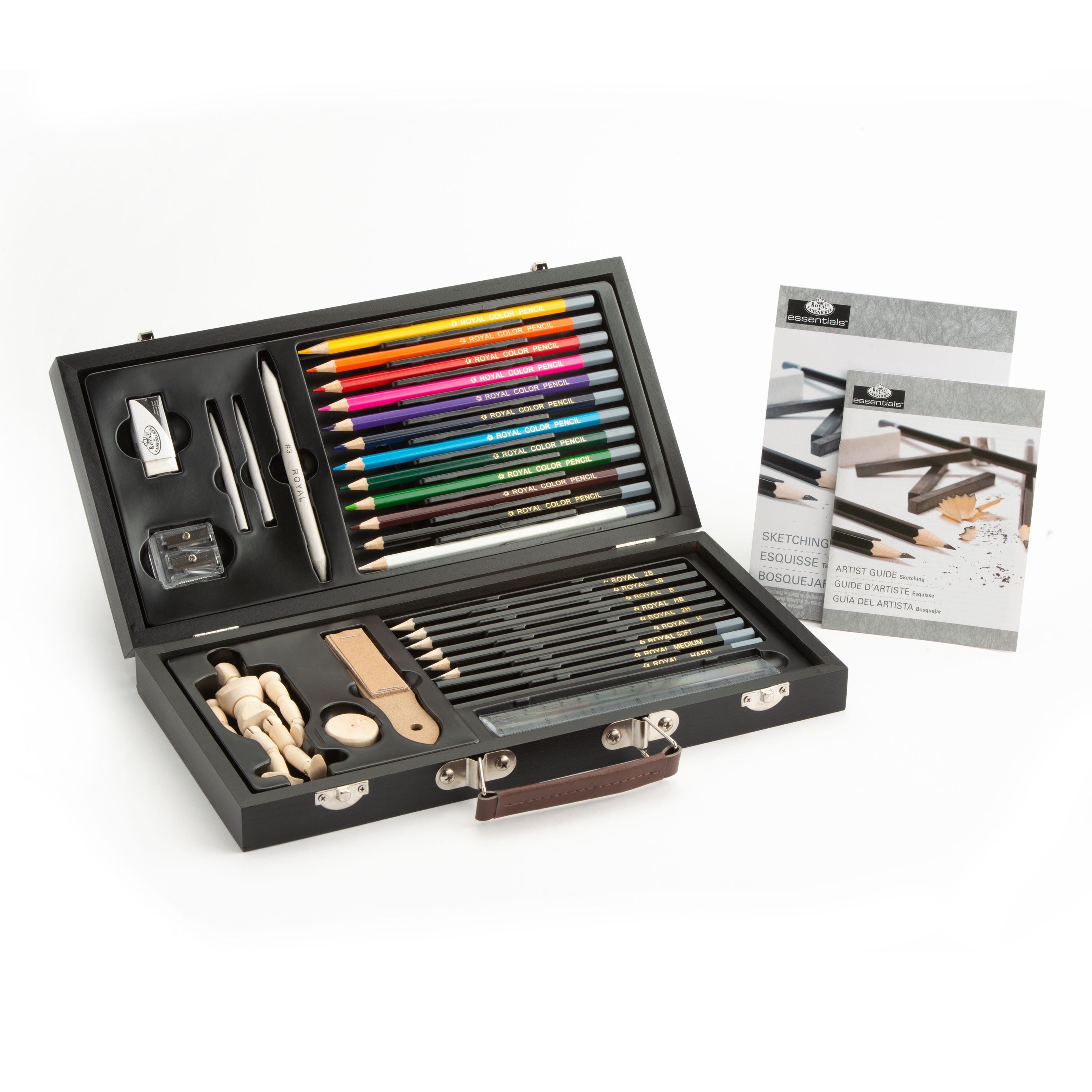 Royal and Langnickel Essentials Sketching Art Set Gift Tin of 12 Pieces