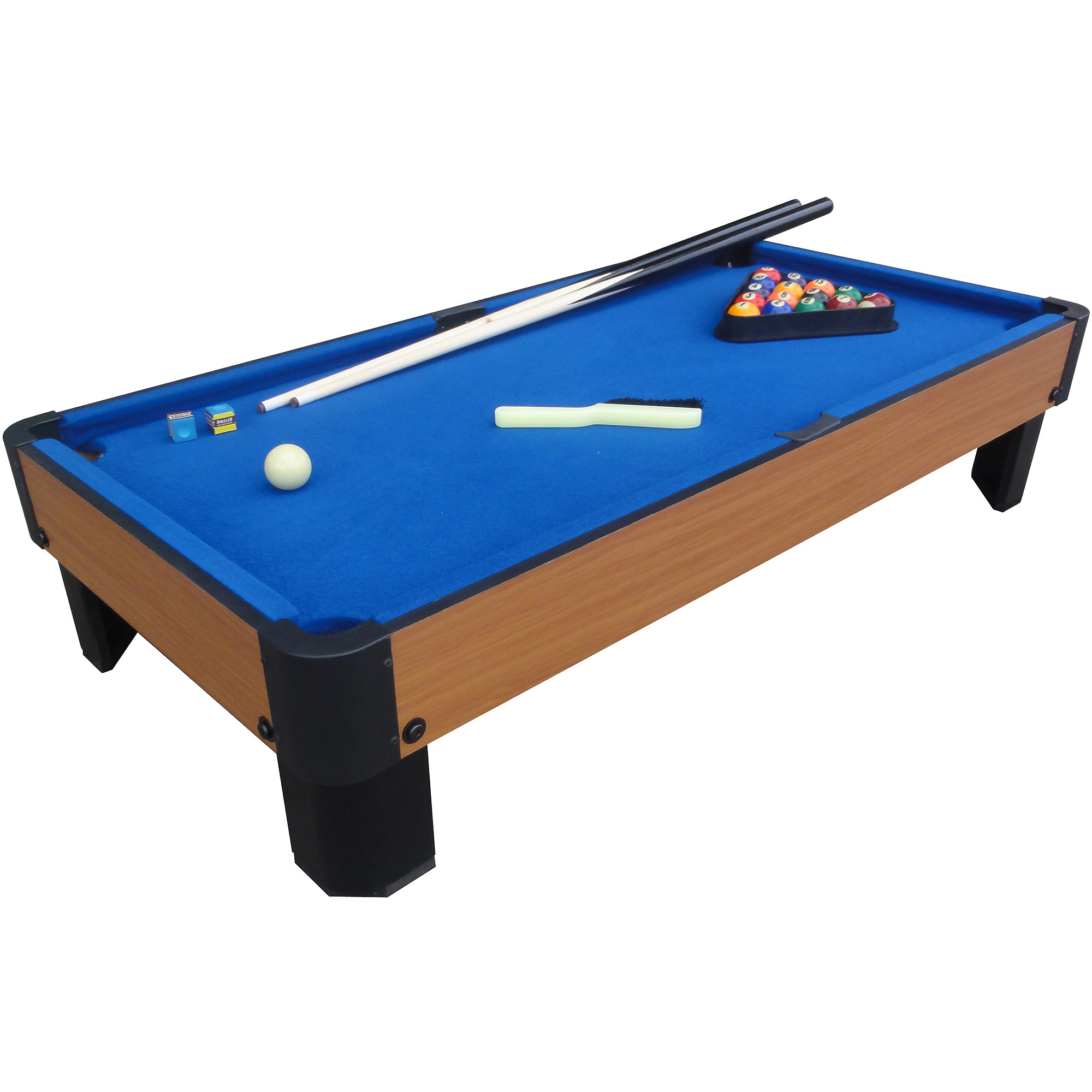 """Playcraft Sport Bank Shot 40"""" Pool Table with Blue Cloth"""