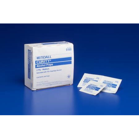 Alcohol Prep Pad Curity - Item Number 5750BX - 200 Each / Box