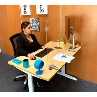 """Sneeze Guard by Versa Products 
