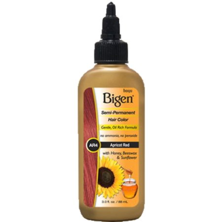 Bigen Semi Permanent Hair Color  Ar4 Apricot Red  3 Oz  Pack Of 6