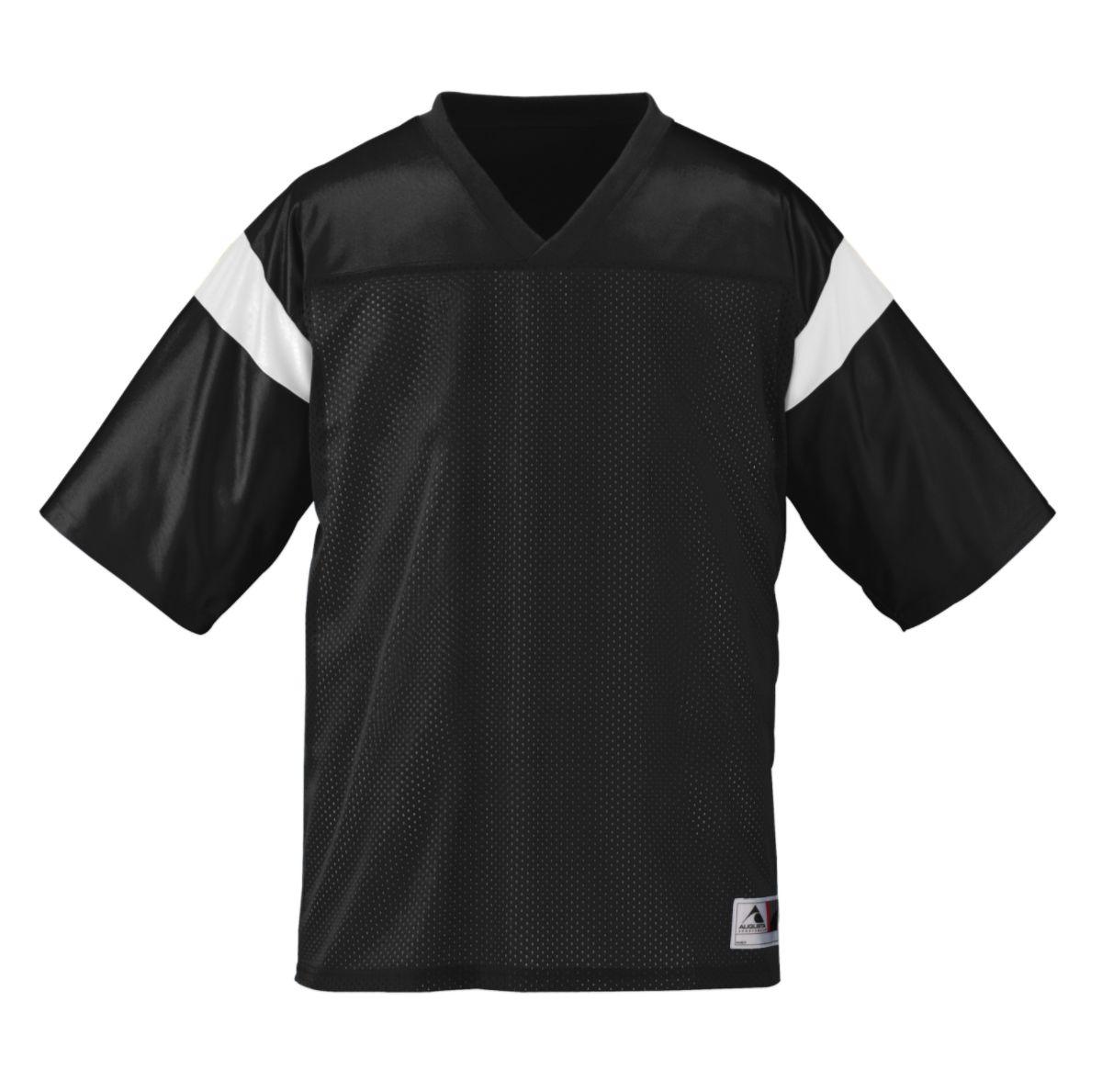 Augusta Sportswear Men's Pep Rally Replica Tee 2Xl Black/White - image 1 of 1