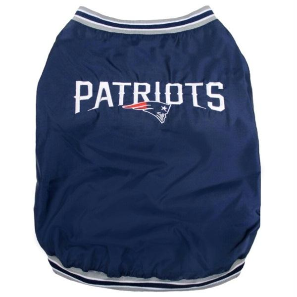 New England Patriots Pet Sideline Jacket - Small