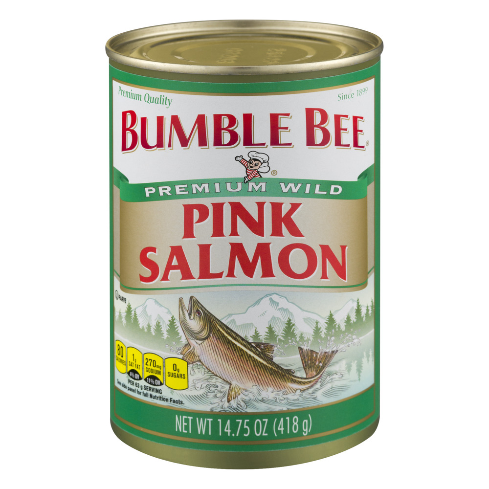 Bumble Bee Premium Wild Pink Salmon, 14.75 OZ