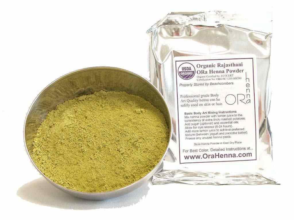 Ora Organic Rajasthani Henna Natural Skin And Hair Dye Baq Mehndi Natural 100g Walmart Com Walmart Com