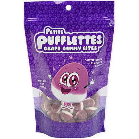 Petite PUFFLETTES raisin gommeux mord, 16 oz