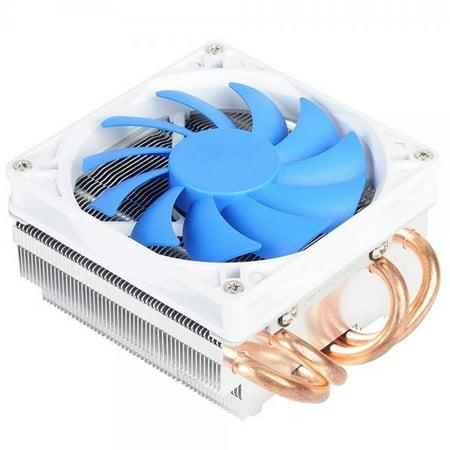 Silverstone Tek Low-Profile Heatsink CPU Cooler with 92mm PWM Fan, Four 6mm Heat Pipes, Intel LGA1155/1156/1150 and AMD AM2/AM3/FM1/FM2 AR06
