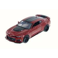 2017 Chevy Camaro ZL1, Red - Maisto 31512R - 1/24 Scale Diecast Model Toy Car