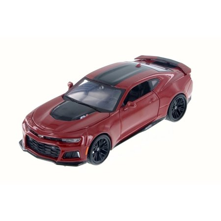 2017 Chevy Camaro ZL1, Red - Maisto 31512R - 1/24 Scale Diecast Model Toy Car ()