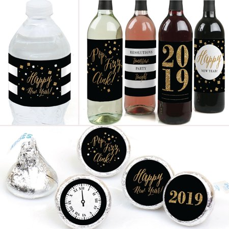 new years eve gold 2019 new years eve party decorations favors kit