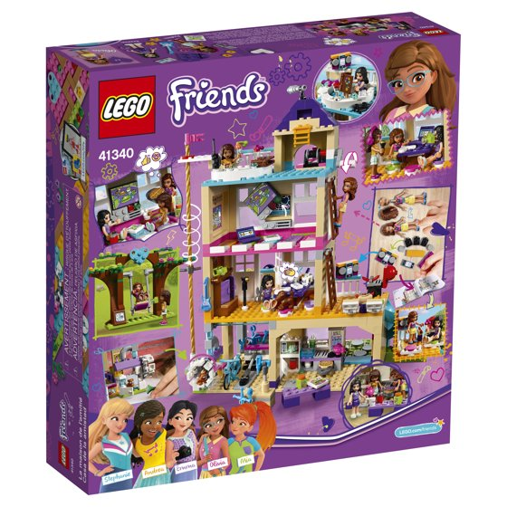 Lego Friends Friendship House 41340 Walmart