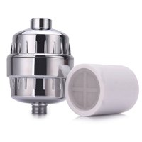 Best Shower Filter Multi-Stage by AquaLutio 2 Cartridge induced