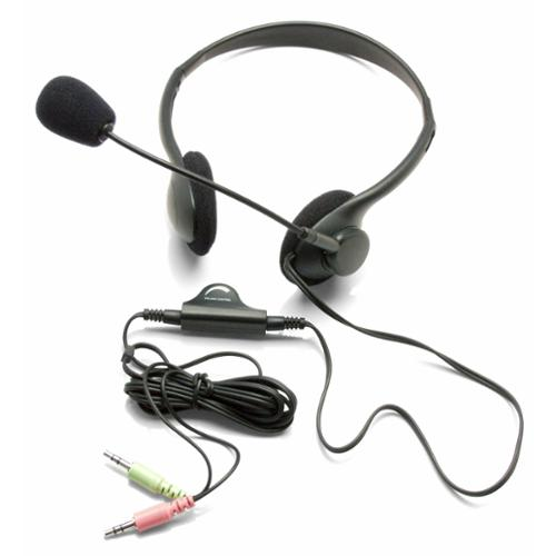 Inland Pro 1000 Lightweight Stereo Headset - Wired Connectivity - Stereo - Over-the-head (87070)