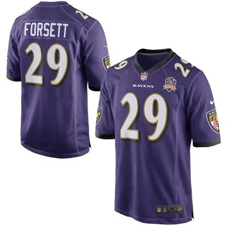 Justin Forsett Baltimore Ravens Nike Team Game 2015 Patch Jersey -