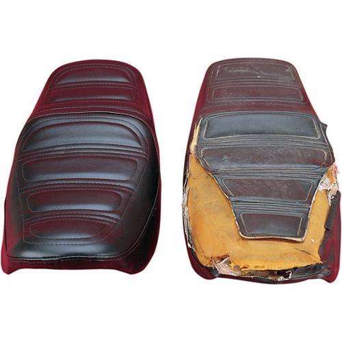Saddlemen Saddleskin Replacement Seat Cover Fits 80-83 Kawasaki 440 LTD KZ440D Belt