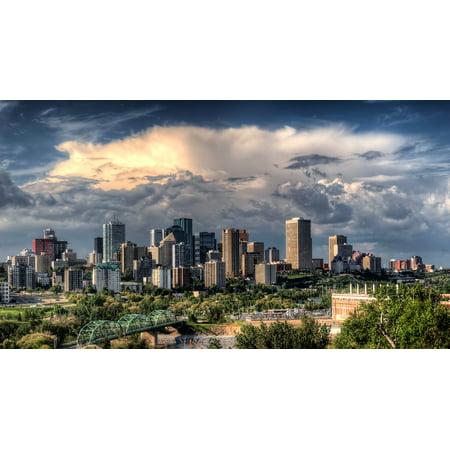 Party City Hours Edmonton (LAMINATED POSTER Cites Canada Edmonton Urban City Buildings Poster Print 24 x)