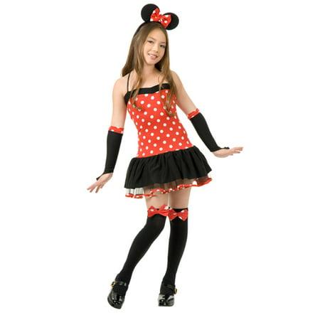 Teen Minnie Mouse Girls Halloween Costume - Walmart.com