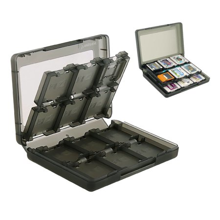 EEEKit 24 in 1 Game Card Case Holder Cartridge Box for Nintendo NEW 3DS, 3DS, DSi/DSi XL, DSi LL, DS, DS Lite/3Ds