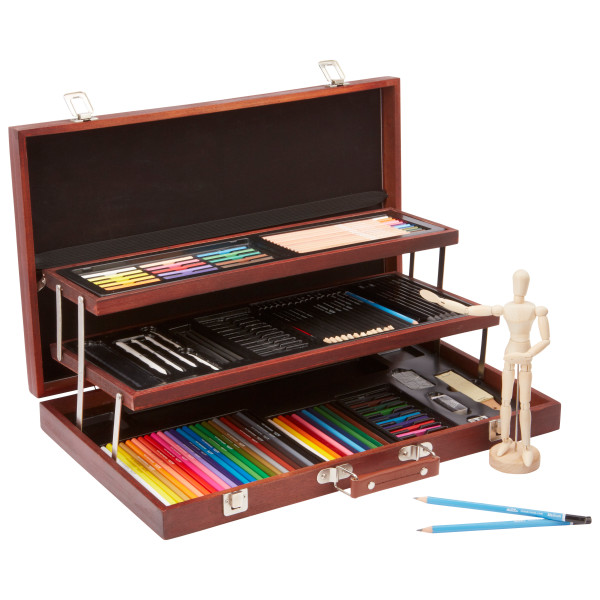 ALEX Art Studio Expressions Deluxe Wooden Drawing Case by Alex Brands