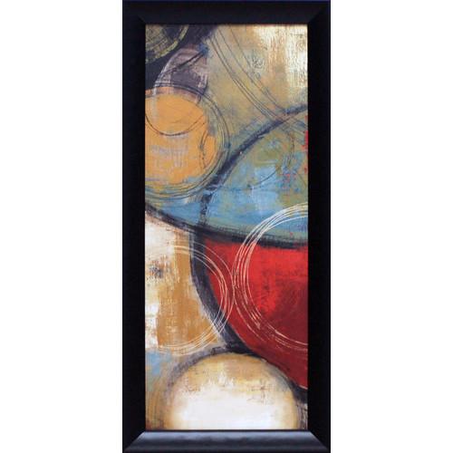 Artistic Reflections Elemental Circles I Framed Painting Print