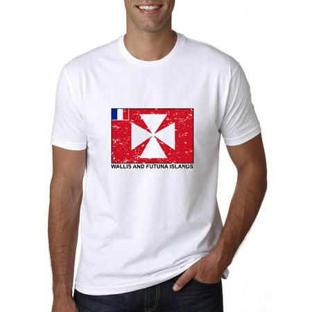 Wallis and Futuna Islands Flag - Special Vintage Edition Men's