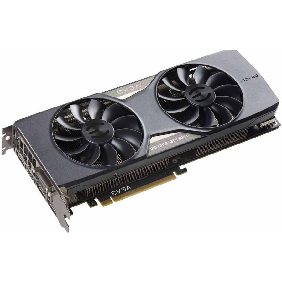 EVGA GeForce GTX 980 Ti 6GB GDDR5 PCI Express 3.0 ACX 2.0+ Graphics Card by EVGA