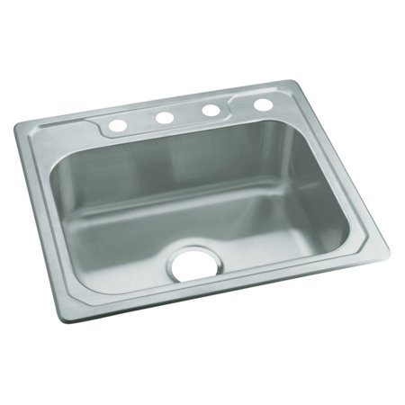 - Sterling by Kohler Middleton® 14631-4 Single Basin Drop In Kitchen Sink