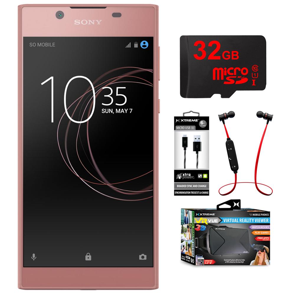 Sony Xperia L1 16GB 5.5-inch Smartphone Unlocked Pink 130...
