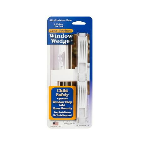 4 Window Roll (Cresci The Window Wedge - Adjustable Window Stop (8 total - 4 two)