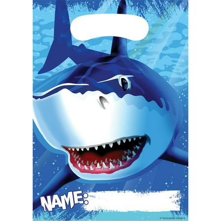 Shark Loot Bags (Halloween Loot Bags Ideas)