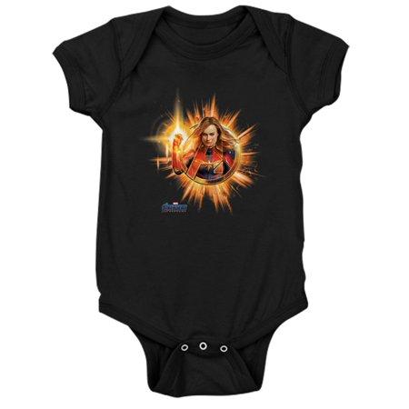Marvel Bodysuit (CafePress - Captain Marvel - Cute Infant Bodysuit Baby)