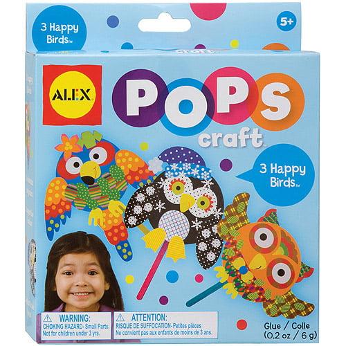 Alex Toys Pops Crafts, Happy Birds Kit by ALEX Toys
