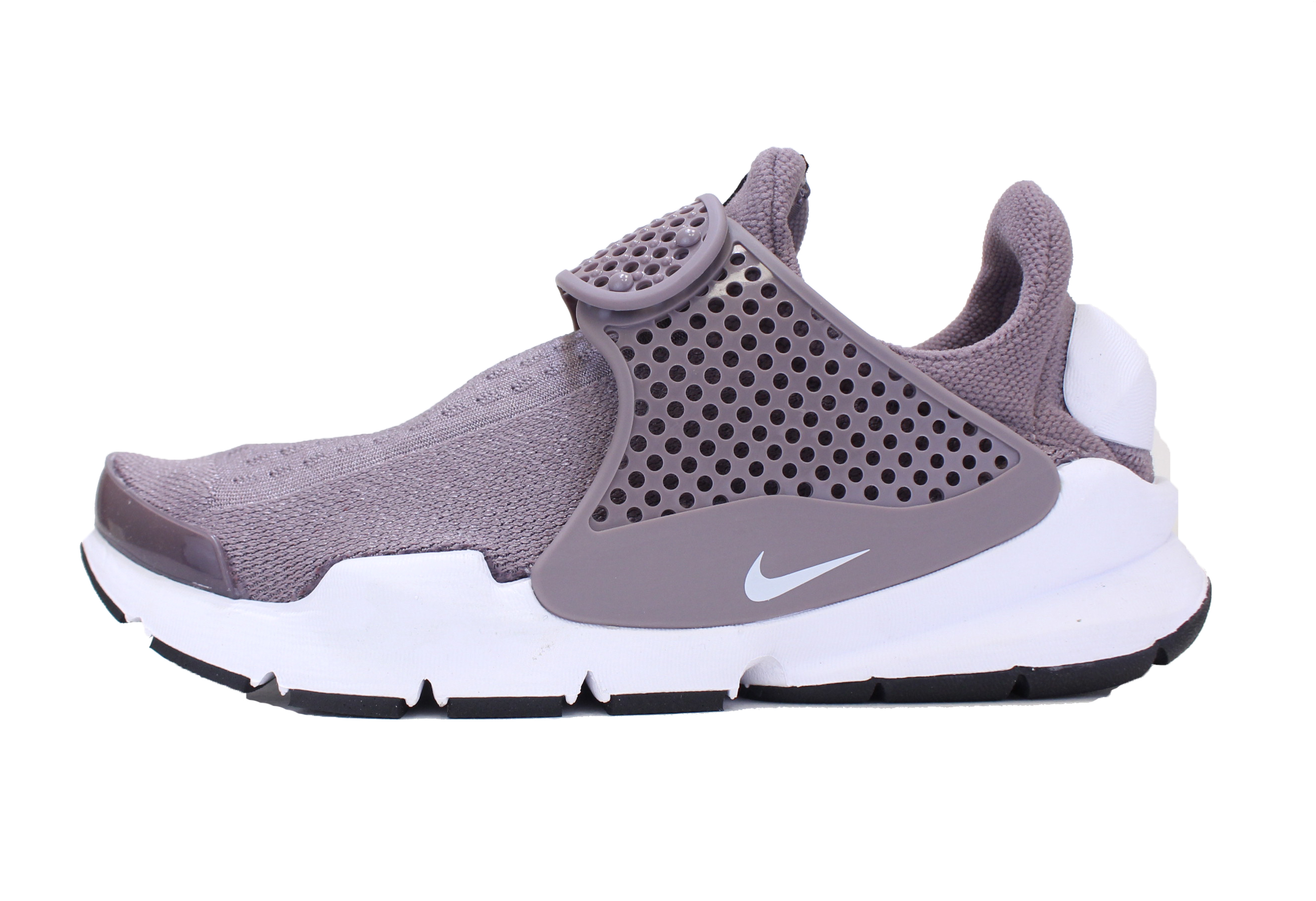 0f45dc3a Nike - NIKE WOMENS SOCK DART SZ 6 TAUPE GREY WHITE BLACK SLIP ON RUNNING  SHOES 848475 201 - Walmart.com