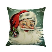 DZT1968 Christmas Printing Dyeing Sofa Bed Home Decor Pillow Cover Cushion Cover