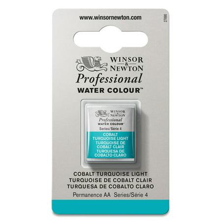 Winsor & Newton Professional Watercolor - Cobalt Turquoise Light, Half Pan ()