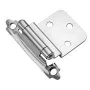 Hickory Hardware P143 Partial Inset Traditional Cabinet Door Hinge
