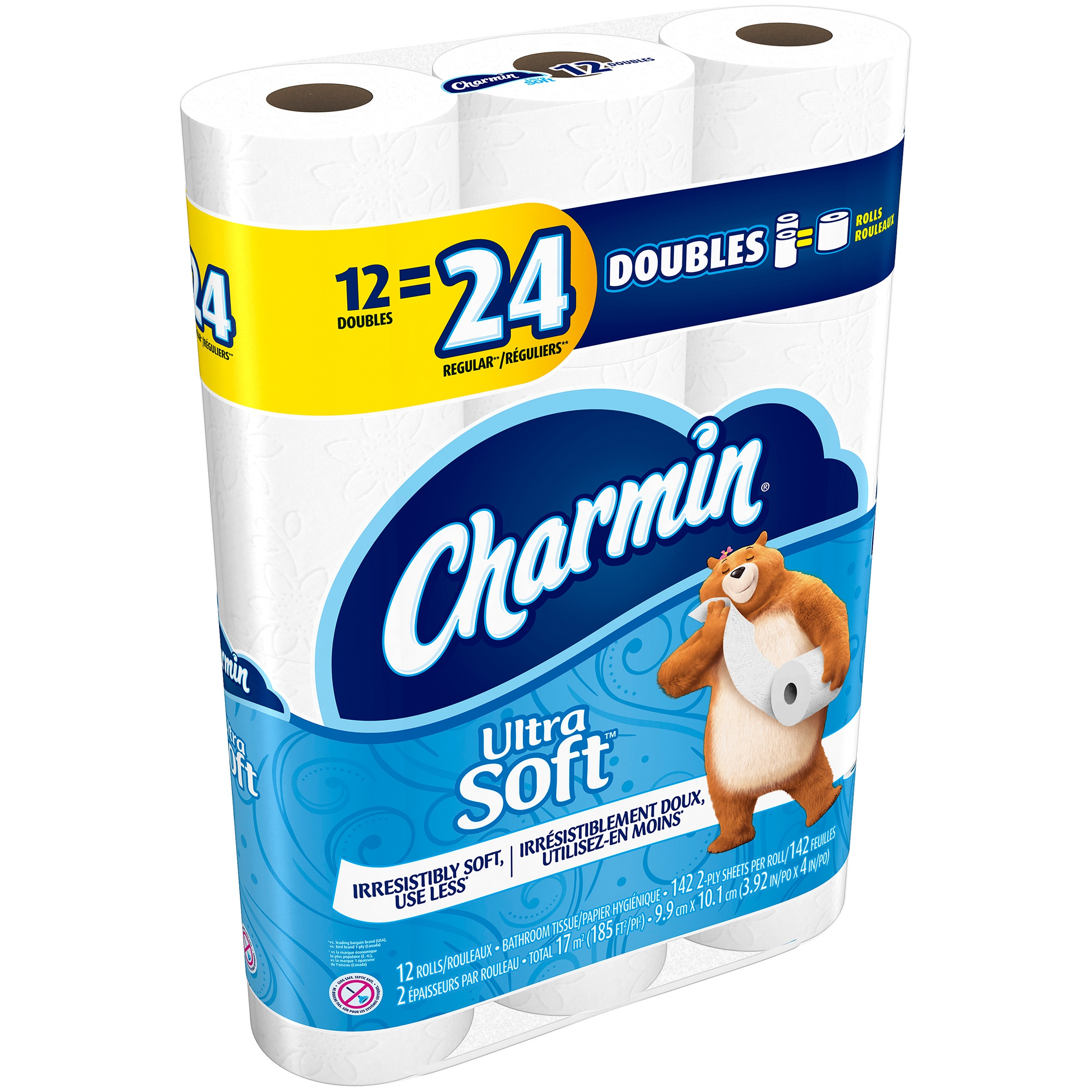 Charmin Ultra Soft Toilet Paper 12 ct Pack by Procter & Gamble