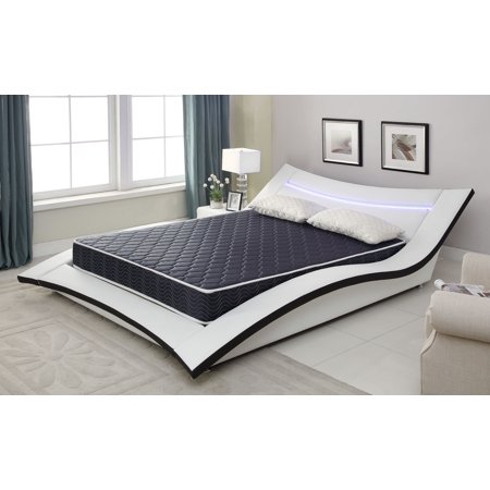 Stylish Form - 6-Inch Foam Mattress Covered in a Stylish Waterproof Fabric, Full, Available in Various Sizes