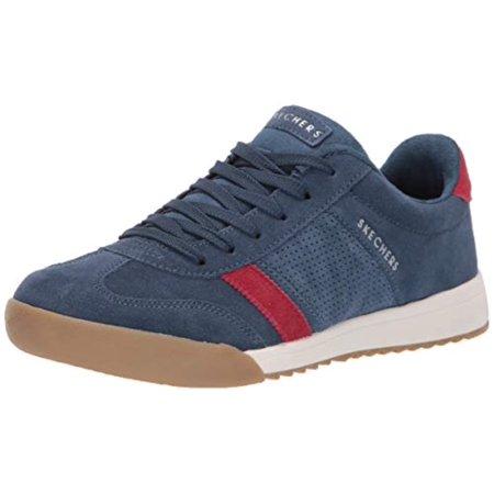 a674f06c3207 Skechers Women s Zinger-Suede Retro Trainer Sneaker