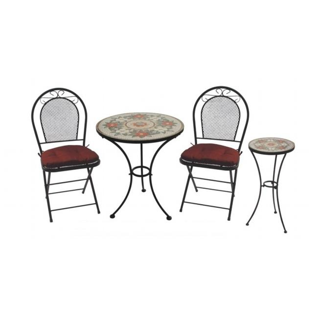DC America Charleston 3 Piece Bistro Set