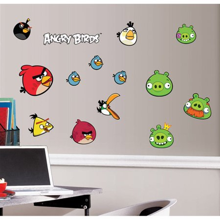 RoomMates Angry Birds Peel & Stick Wall Decals