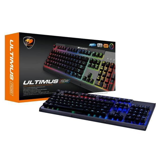 Cougar ULTIMUS RGB3 Mechanical Gaming Keyboard (Blue Switches)