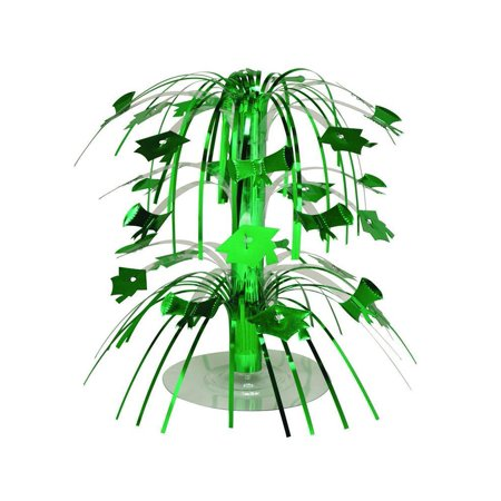 Creative Converting Green Mortarboard Graduation Centerpiece - College Graduation Centerpieces