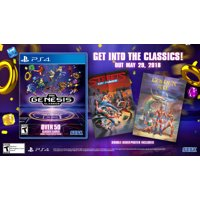 Sega Genesis Classics, Sega, PlayStation 4, 010086632309