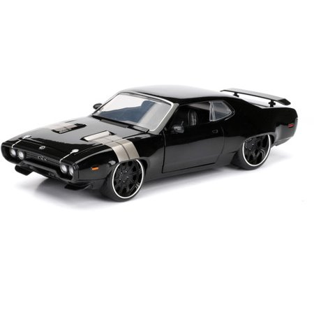 Jada® Fast & Furious™ F8 Collector Series Dom's Plymouth GTX Die Cast Collectible