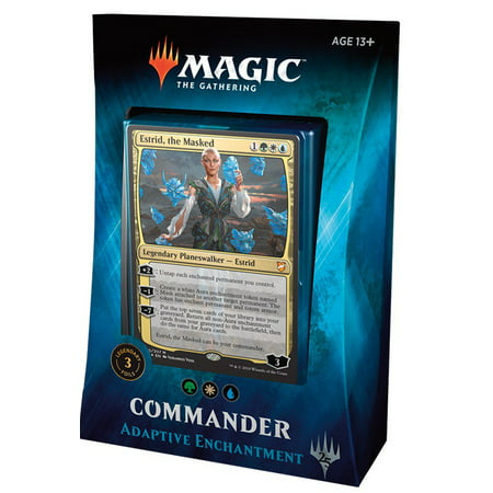 MtG Commander 2018 Adaptive Enchantment Deck [Green White