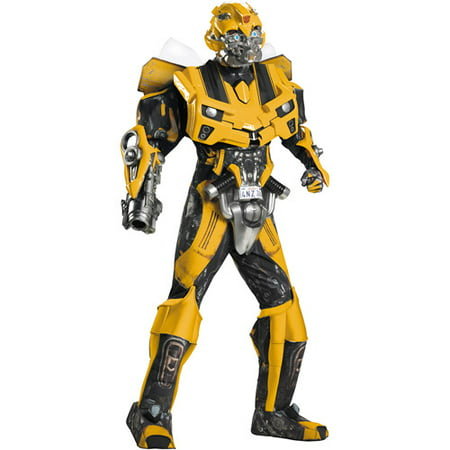 Transformers 3 Dark of the Moon Bumblebee Theatrical Adult Halloween Costume](Elvira Mistress Dark Halloween Costumes)