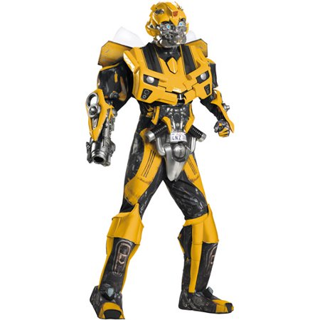 Transformers 3 Dark of the Moon Bumblebee Theatrical Adult Halloween Costume - Bumblebee Costume Transforms Into Car
