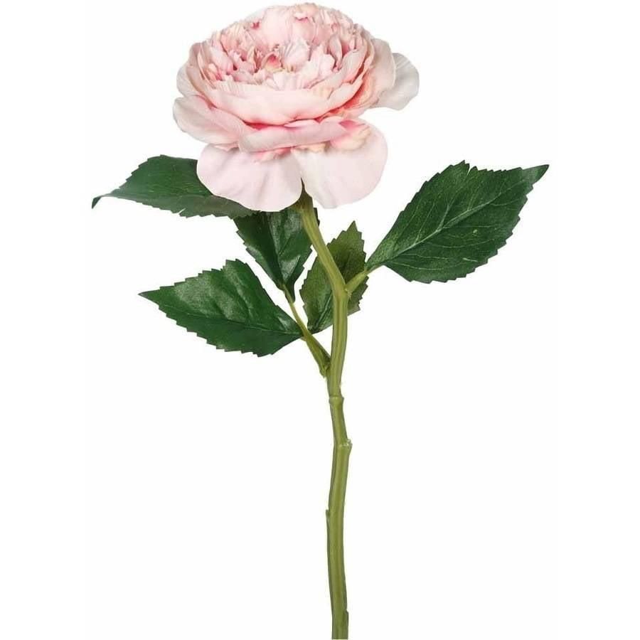 """Vickerman 13"""" Artificial Pink Rose Stem (6 Per Pack)"""